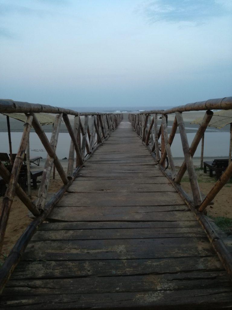 brug naar ontspanning