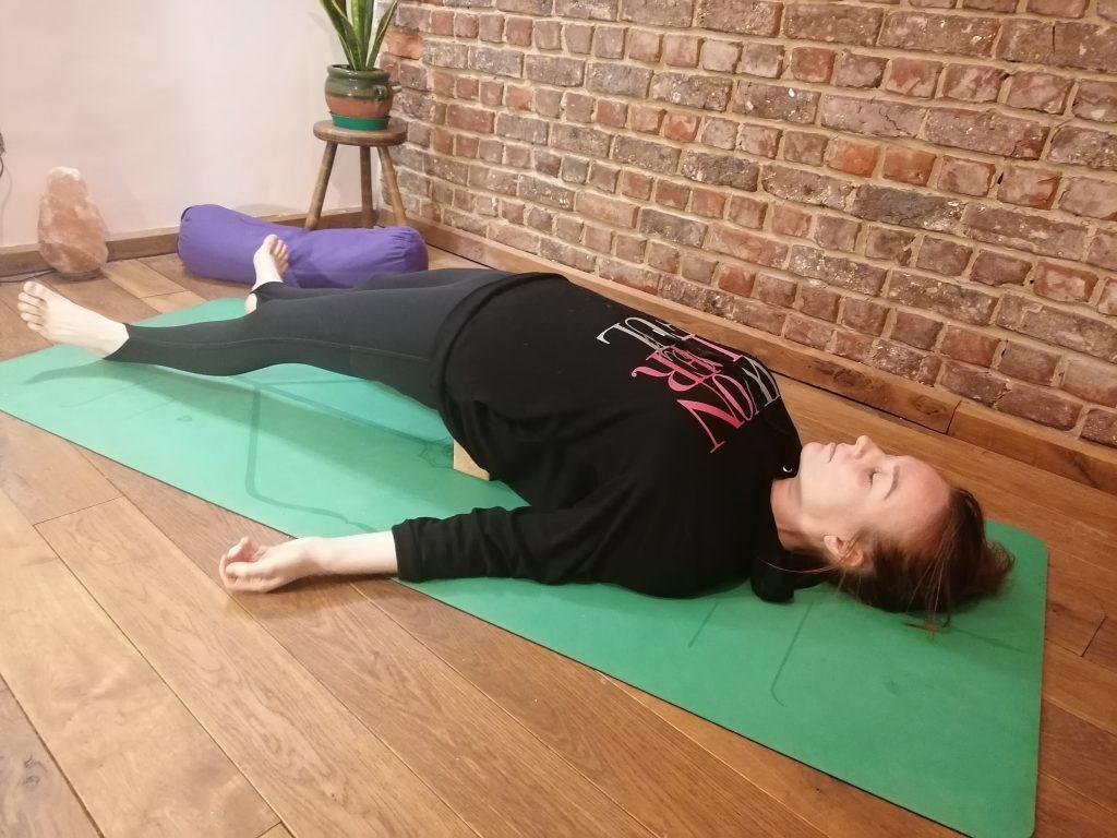 yoga voor een goede nachtrust